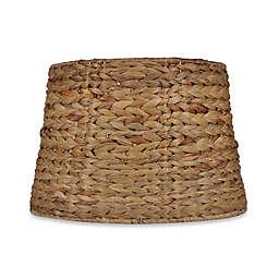 Mix & Match Medium 9-Inch Seagrass Drum Lamp Shade in Brown