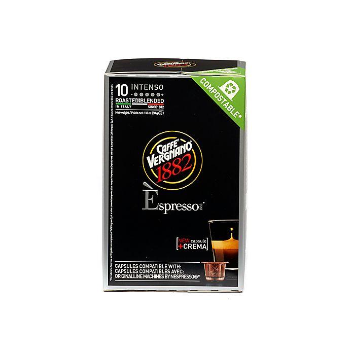 Alternate image 1 for Caffe Vergnano® Intenso Espresso Capsules 10-Count
