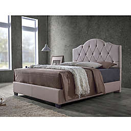 Baxton Studio Juliet Fabric Upholstered Bed