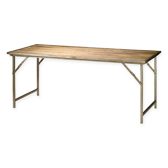 Alternate image 1 for Campaign Folding Dining Table