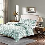 Plush Sleep Philosophy True North Reversible King Comforter Set in Aqua