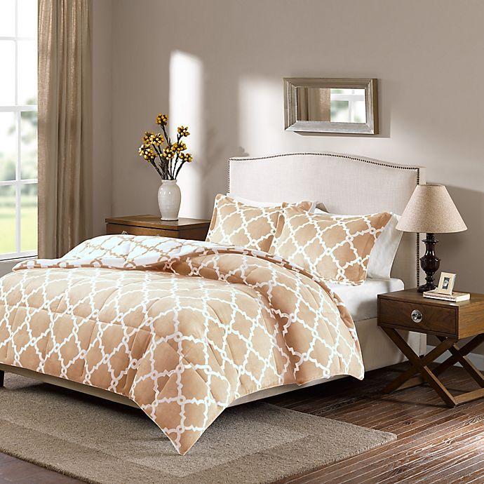 Alternate image 1 for Plush Sleep Philosophy True North Reversible Comforter Set