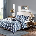 Plush Sleep Philosophy True North Reversible Full/Queen Comforter Set in Indigo