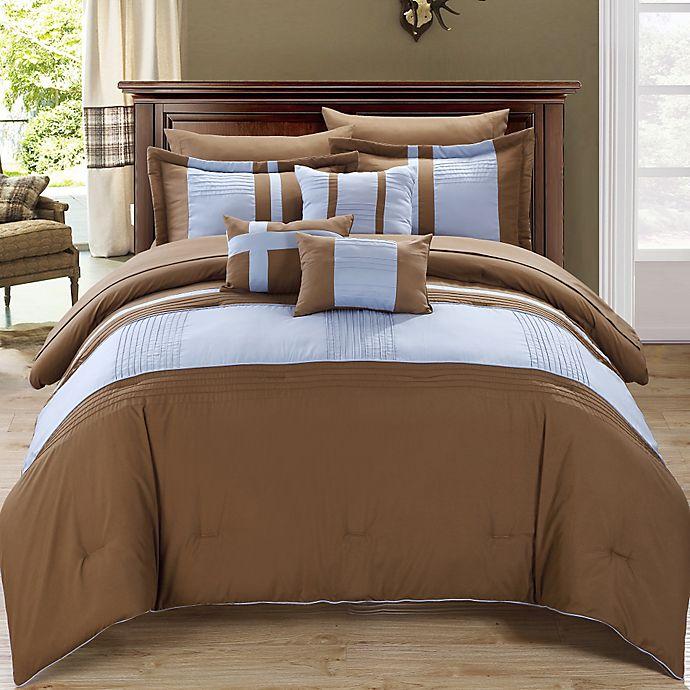 Alternate image 1 for Chic Home Sheila 10-Piece Comforter Set