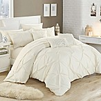 Chic Home Salvatore 10-Piece King Comforter Set in Beige
