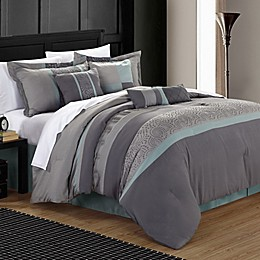 Chic Home Elijah 8-Piece Comforter Set