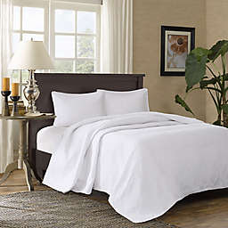 Madison Park Corinne 3-Piece King/Cal King Bedspread Set in White