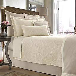 Wamsutta® Collection Salerno Coverlet in Linen