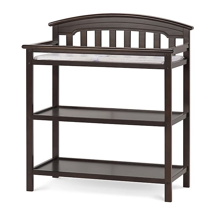 Alternate image 1 for Child Craft™ Wadsworth Changing Table in Slate