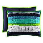 J by J. Queen New York Cordoba Standard Pillow Sham in Teal
