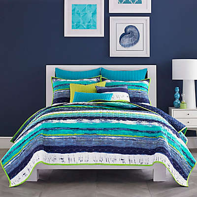 J by J. Queen New York Cordoba Coverlet in Teal