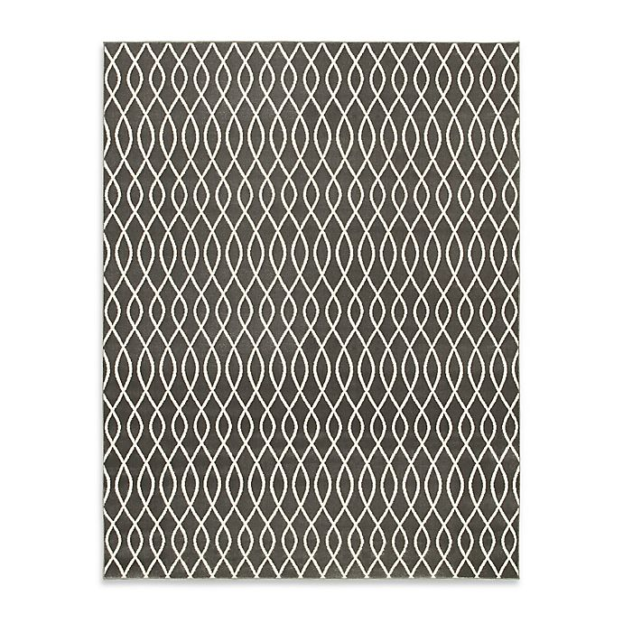Alternate image 1 for Emma 5-Foot x 7-Foot Area Rug in Grey