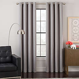 Impression Grommet Top Lined Window Curtain Panel