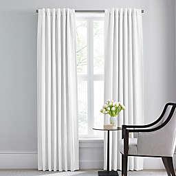 Barbara Barry Modern Drape Rod Pocket/Back Tab Window Curtain Panel