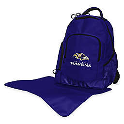 Lil Fan® NFL Baltimore Ravens Diaper Backpack