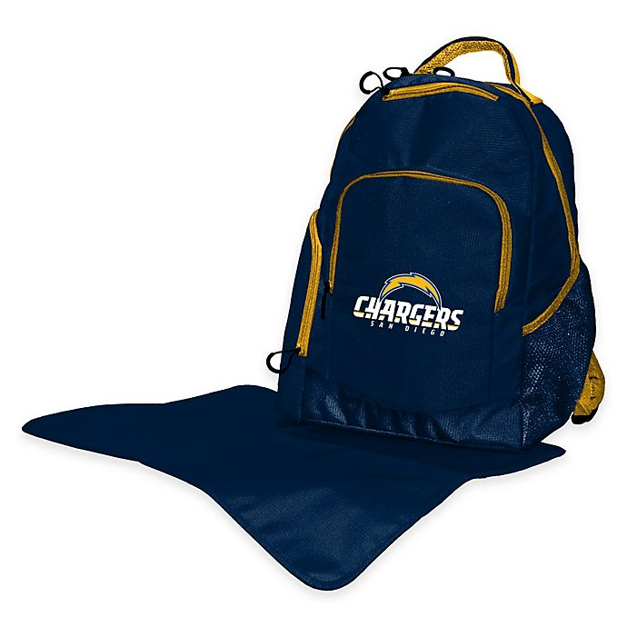 Buy Lil Fan 174 Nfl San Diego Chargers Diaper Backpack From