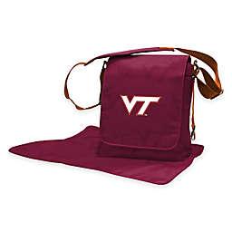 Lil Fan® Virginia Tech Messenger Diaper Bag
