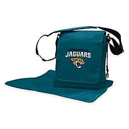 Lil Fan® NFL Jacksonville Jaguars Messenger Diaper Bag