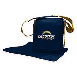 Lil Fan® NFL San Diego Chargers Messenger Diaper Bag
