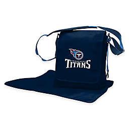Lil Fan® NFL Tennessee Titans Messenger Diaper Bag