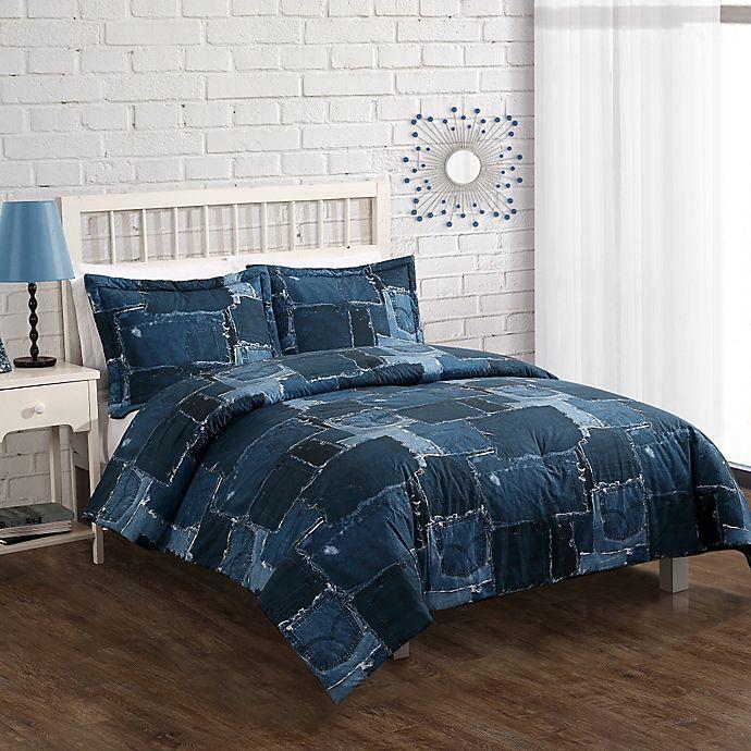 Alternate image 1 for Jean Patch 2-3 Piece Comforter Set