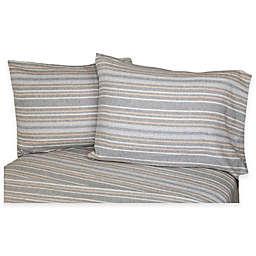 Belle Epoque La Rochelle Collection Herringbone Heathered Flannel Sheet Set