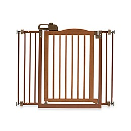 Richell® One-Touch Gate II Pressure Mount Step-Through Pet Gates