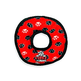 Tuffy® Junior Ring Paw Print Squeaker Dog Toy