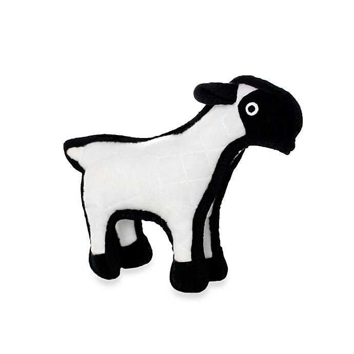 Alternate image 1 for Tuffy® Junior Sheep Dog Toy in White/Black
