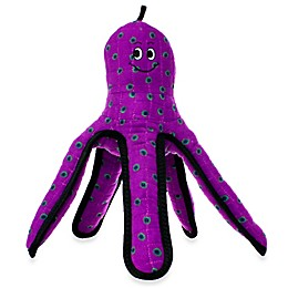 Tuffy® Octopus Squeaker Dog Toy in Purple
