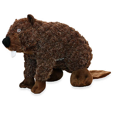 Mighty® Pet Toys Massive Nature Beaver Squeaker in Brown