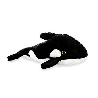 Mighty® Pet Toys Whale Squeaker for Dogs in Black/White