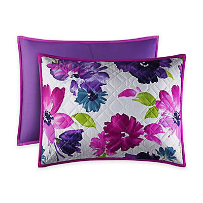 J by J. Queen New York Midori Pillow Sham in Fuchsia