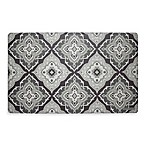 Laura Ashley® Allie 32-Inch x 20-Inch Memory Foam Kitchen Mat in Grey