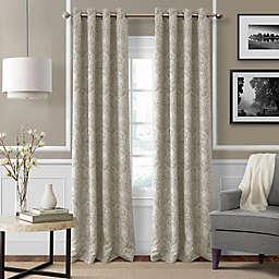 Julianne 84-Inch Blackout Grommet Top Window Curtain Panel in Natural (Single)