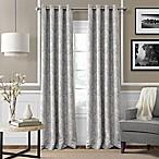 Julianne 84-Inch Blackout Grommet Top Window Curtain Panel in Grey