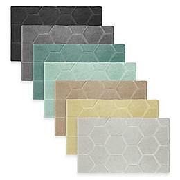 Laura Ashley® Pearl 20-Inch x 32-Inch Honeycomb Bath Rug