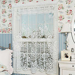 Heritage Lace® Victorian Rose 30-Inch Window Curtain Tier Pair