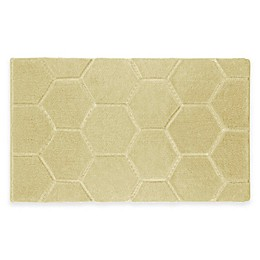 Laura Ashley® Pearl Honeycomb Bath Rug