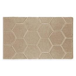 Laura Ashley® Pearl Honeycomb Bath Rug