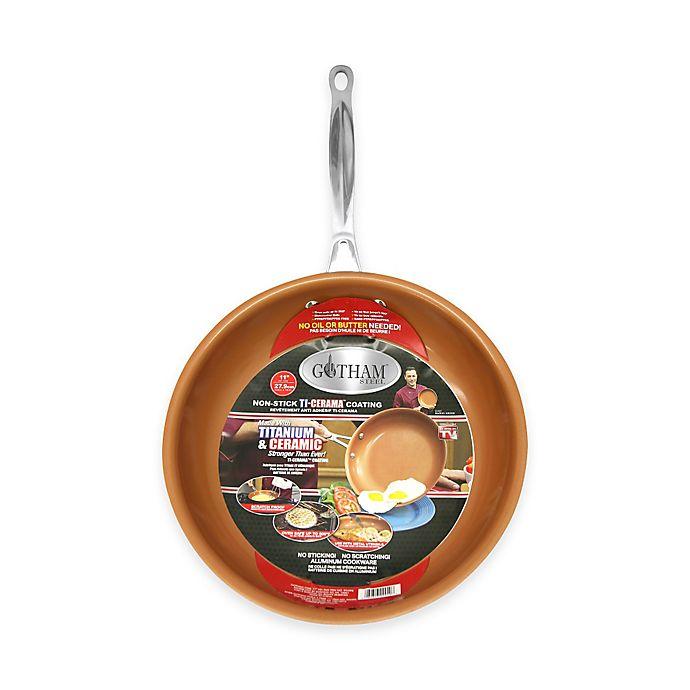Alternate image 1 for Gotham™ Steel Ti-Cerama™ 11-Inch Nonstick Fry Pan