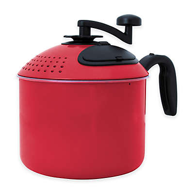 Mac Magic® 4 qt. Pasta Pot in Red