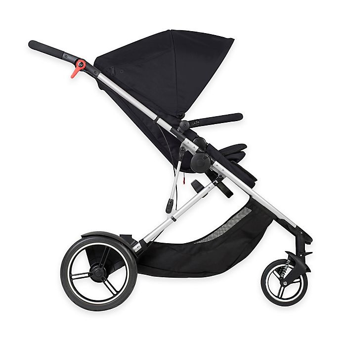 Alternate image 1 for phil&teds® Voyager™ Inline Stroller in Black