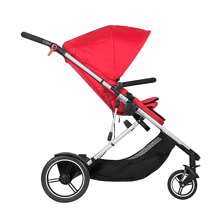 Alternate image 1 for phil&teds® Voyager™ Inline Stroller in Red