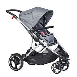 phil&teds® Voyager™ Inline Stroller in Grey Marl