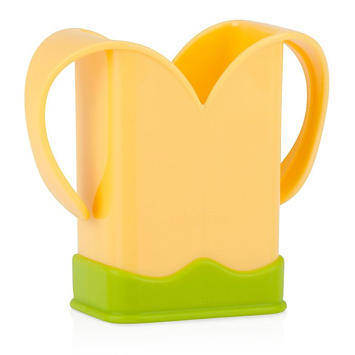 Alternate image 1 for Nuby™ 2-Handle Juice Box Holder in Yellow