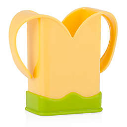 Nuby™ 2-Handle Juice Box Holder in Yellow