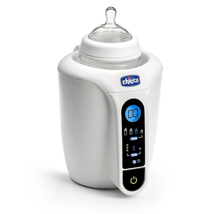 Alternate image 1 for Chicco® Digital Bottle & Baby Food Warmer in White