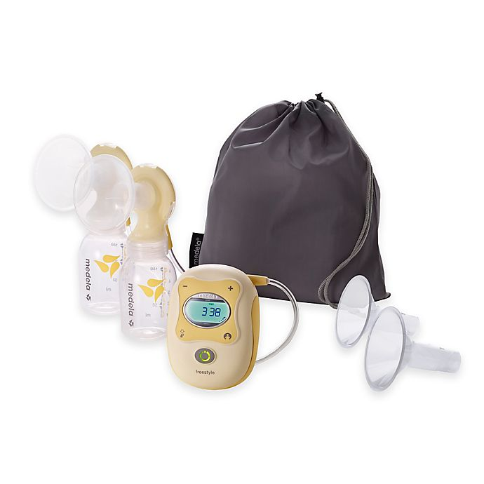 Medela Electric Double Breast Pump Starter Set With Totebag Bed
