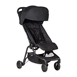 Mountain Buggy® Nano Travel Stroller in Black
